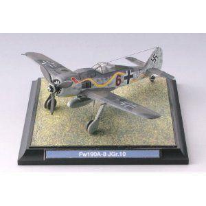 技MIX WW01 1/144 フォッケーウルフFw190A-8 第10戦闘飛行隊 (Schwarz 6) (彩色済み)|tokiwaya