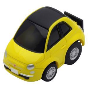 2007年に復活した新型フィアット500。キャンバストップ仕様の500Cを再現。限定車など様々なボデ...