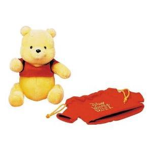 くまのプーさん 80周年 赤シャツ巾着入り くまのプーさん