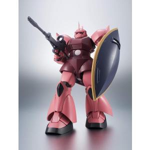 ROBOT魂 機動戦士ガンダム [SIDE MS] MS-14S シャア専用ゲルググ ver. A.N.I.M.E. 購入特典バトルエフェクトピンクVer 1個付|tokiwaya|02