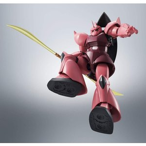 ROBOT魂 機動戦士ガンダム [SIDE MS] MS-14S シャア専用ゲルググ ver. A.N.I.M.E. 購入特典バトルエフェクトピンクVer 1個付|tokiwaya|06