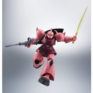 ROBOT魂 機動戦士ガンダム [SIDE MS] MS-14S シャア専用ゲルググ ver. A.N.I.M.E. 購入特典バトルエフェクトピンクVer 1個付|tokiwaya|07