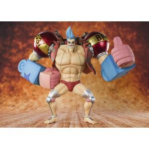 フィギュアーツZERO ONE PIECE 鉄人フランキー tokiwaya
