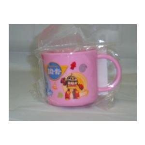 ロボカーポリープラコップ(ピンク) tokiwaya