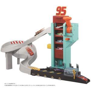 ディズニー カーズ トミカ レバーで連続発進! ダイナミックタワー