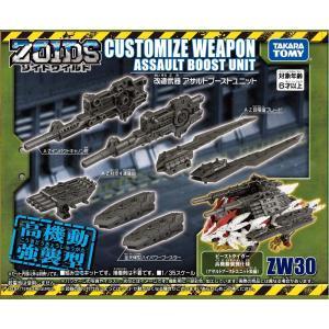 ZOIDS ゾイドワイルド ZW30 改造武器 アサルトブーストユニット tokiwaya