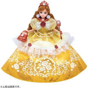 リカちゃん ドレス ゆめみるお姫さま エレガントローズドレス tokiwaya