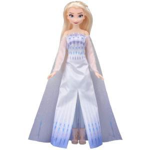 パッケージ傷みあり ディズニー アナと雪の女王2 ロイヤルフレンズ ミュージカルドール エルサ エピローグドレス tokiwaya