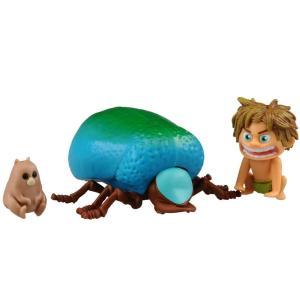 ディズニー アーロと少年 にぎやか恐竜コレクション スポット&ビートル|tokiwaya