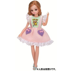 リカちゃん ドレス LW-01 コットンキャンディ|tokiwaya