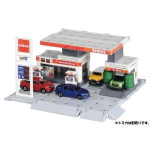 トミカ トミカタウン ビルドシティ ガソリンスタンド ENEOS|tokiwaya