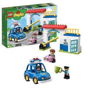 レゴ(LEGO) デュプロ 光る! 鳴る! ポリスカーとポリスステーション 10902