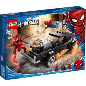レゴ(LEGO) スーパー・ヒーローズ スパイダーマン&ゴーストライター vs.カーネイジ 76173|tokiwaya