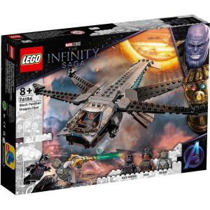 レゴ(LEGO) スーパー・ヒーローズ ブラックパンサー ドラゴン・フライヤー 76186|tokiwaya
