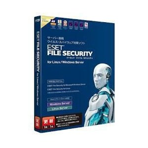 キヤノンITソリューションズ ESET File Security for Linux / Windows Server 更新|tokka