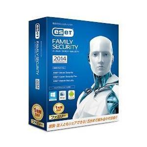 キヤノンITソリューションズ ESET ファミリー セキュリティ 2014 1年版