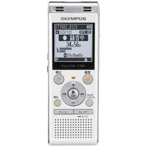 オリンパス V-862 WHT(ホワイト) Voice-Trek ICレコーダー 4GB|tokka