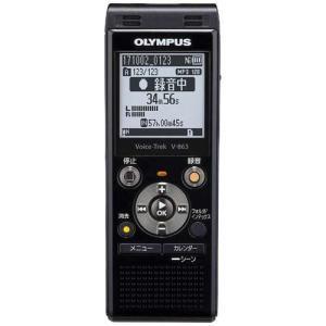 オリンパス V-863 BLK(ピアノブラック) Voice-Trek ICレコーダー 8GB|tokka