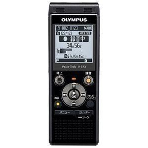 オリンパス V-873 BLK(ピアノブラック) ICレコーダー Voice-Trek(ボイストレック) 8GB|tokka