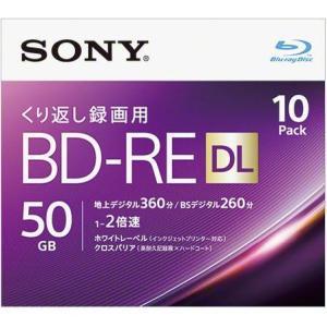 ソニー 10BNE2VJPS2 録画・録音用 BD-RE DL 50GB 繰り返し録画 プリンタブル 2倍速 10枚|tokka