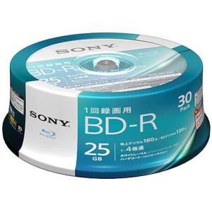 ソニー 30BNR1VJPP4 録画・録音用 BD-R 25GB 一回(追記)録画 プリンタブル 4倍速 30枚|tokka