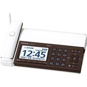 パナソニック KX-PD102D-W(ピアノホワイト) デジタルコードレス普通紙ファクス