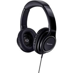 パナソニック RP-HD5-K(ブラック) ステレオヘッドホン ハイレゾ対応|tokka