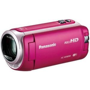 パナソニック HC-W580M-P(ピンク) ワイプ撮り デジタルハイビジョンビデオカメラ 32GB
