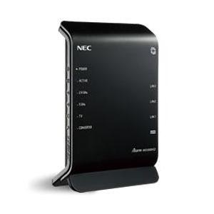 ■11ac対応、867Mbpsの高速Wi-Fiルータ■IPv6通信対応!さらにNEC独自の【IPv6...