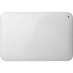 東芝 HD-AC10TW(ホワイト) ポータブルHDD 1TB USB3.0接続