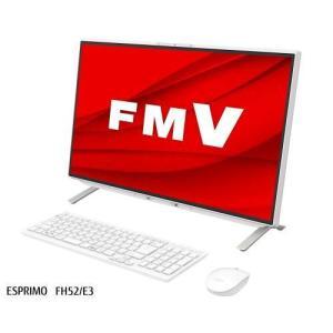 富士通 FMVF52E3W(ホワイト)23.8型 Celeron/4GB/512GB/Office FMV ESPRIMO FH52/E3|tokka