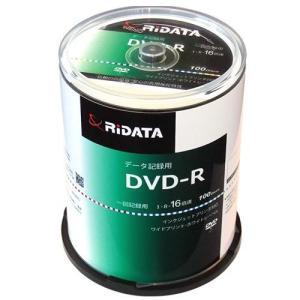 ライテック D-R47GB.PW100RD C データ用 DVD-R 4.7GB 一回記録 プリンタブル 16倍速 100枚 tokka
