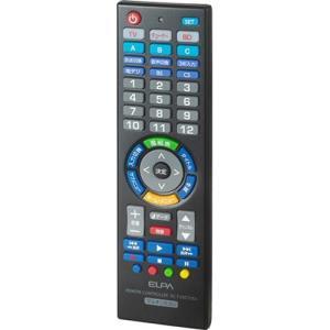 エルパ RC-TV007UDL 学習機能付マルチリモコン|tokka