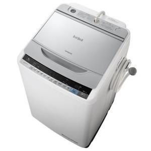 日立 BW-V90A-S(シルバー) ビートウォッシュ 全自動洗濯機 洗濯9kg