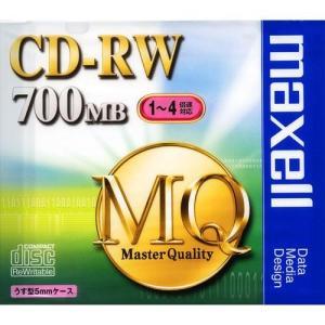 マクセル CDRW80MQ.S1P データ用 CD-RW 700MB 繰り返し記録 4倍速 1枚 tokka
