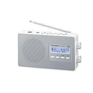 パナソニック RF-U100TV-W(ホワイト) ワンセグTV音声-FM-AM3 バンドレシーバー|tokka