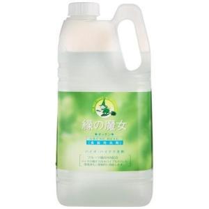 ミマスクリーンケア 緑の魔女 キッチン 台所用洗剤 業務用 2L|tokka
