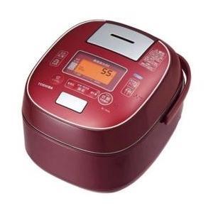 東芝 RC-10VSL-RS(ディープレッド) 真空圧力IHジャー炊飯器 5.5合|tokka