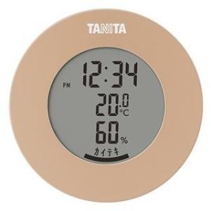 タニタ TT-585-BR(ライトブラウン) デジタル温湿度計