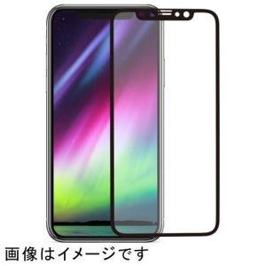 ■液晶画面の端までを立体的に守る全面保護タイプ■ツヤのある光沢ガラスで、iPhoneの液晶画面の美し...