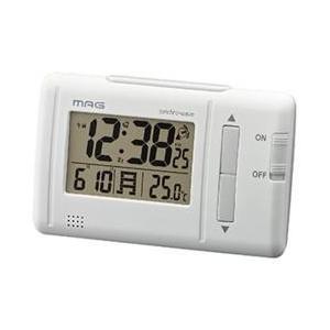 ノア精密 T-692(ホワイト) 電波目覚まし...の関連商品4