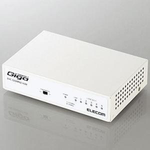 エレコム EHC-G08MN2-HJW(ホワイト) 1000BASE-T対応 スイッチングハブ 8ポート|tokka