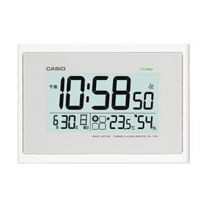 CASIO IDL-100J-7JF 温湿度計付き電波壁掛け...