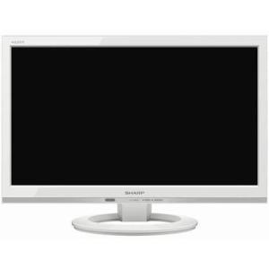 シャープ LC-19K40-W(ホワイト) AQUOS(アクオス) ハイビジョン液晶テレビ 19V型|tokka
