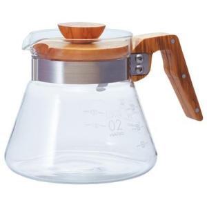 ハリオ コーヒーサーバー 600ml オリーブウッド VCWN-60-OV|tokka
