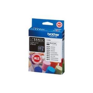 ブラザー LC111BK 純正 インクカートリッジ ブラック|tokka