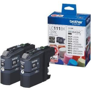 ブラザー LC111BK-2PK 純正 インクカートリッジ ブラック 2個パック|tokka