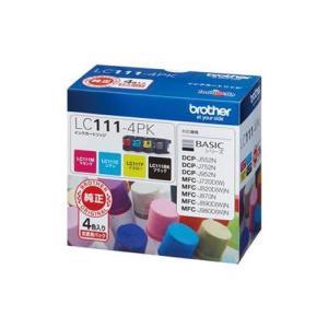 ブラザー LC111-4PK 純正 インクカートリッジ 4色パック|tokka