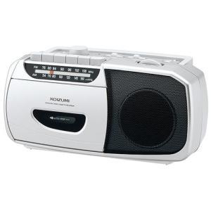 コイズミ SAD-1208/S(シルバー) ラジカセ ワイドFM対応|tokka