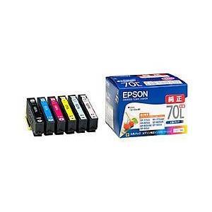 エプソン IC6CL70L 純正 インクカートリッジ 6色パック 増量タイプ|tokka